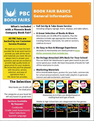 PBC Book Fair Basics